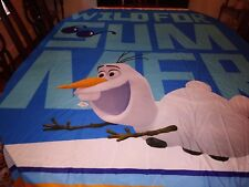 Disney FROZEN Wild For Summer Olaf for Kids Bath 69x71 New
