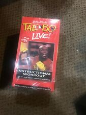 New Seal Set Of 4 Tae Bo Live Work Out Video VHS