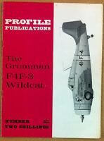 Aeronautica - Aviation - Profile Publications - N° 53 The Grumman F4F-3 Wildcat