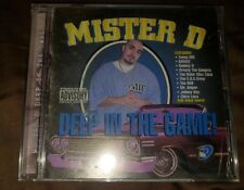 Mister D Deep in The Game Rare Chicano rap Cd  NEW out of print rare