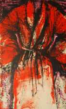 Jim Dine A Robe in Los Angeles 1984 Signed Limited Edition
