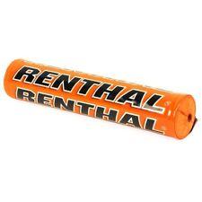 Renthal SX 240mm MX Enduro Handlebar Bar Pad - Solid Orange