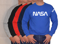NASA,SPACE,MOON,SPACEX,LARGE LOGO,SWEATSHIRT ,UNISEX