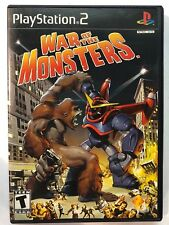 Sony PlayStation 2 War Of The Monsters PS2 USA