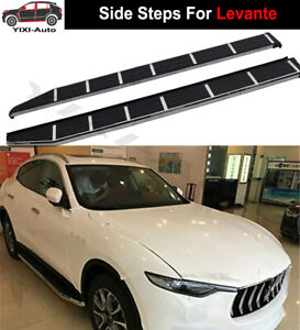 Running Board Side Step Pedals Bar Fits for Maserati Levante 2016-2021