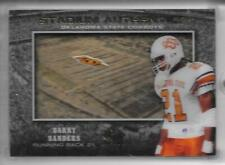2012 SP AUTHENTIC STADIUM AUTHENTICS SHADOW BOX #SA-BS BARRY SANDERS COWBOYS