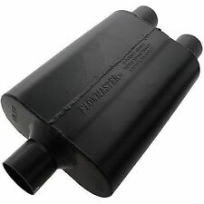 """Flowmaster 9425472 Super 44 Muffler, 2.50"""" Center In/2.50"""" Dual Out - Aggr Sound"""