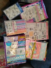 Lot Of Rubber Stamps & Card Kits w/Magazines
