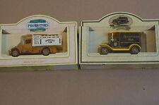 Rare Models of Promotion Brown Jordans Millers Truck and Black Ringtons Tea Van