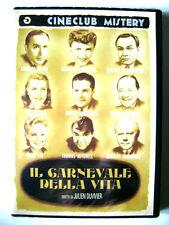 Dvd Il Carnevale della vita (Cineclub Mistery) di Julien Duvivier 1943 Nuovo