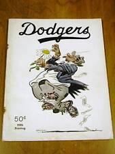 ORIGINAL 1951 Brooklyn Dodgers YEARBOOK Very Good Cond.