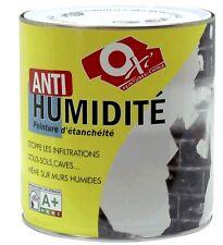 PEINTURE ANTI HUMIDITE 0.5L OXI anti infiltration forme une barrière étanche