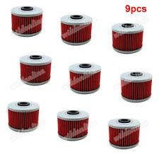 9x Oil Filter For Honda CBX250 NX650 TRX250X XL250 TRX250X ATC250ES XR500R XR500