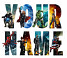 MARVEL AVENGERS LETTER NAME IRON ON TSHIRT TRANSFERS PERSONALISED  LOT MTL