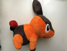 "GENUINE UK 2012 POKEMON LARGE 12"" TEPIG PUPPET SOFT PLUSH TOY NINTENDO TOMY"