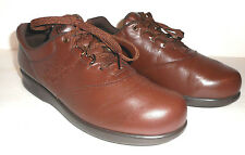 SAS Freetime Shoes Women's 9 Slim Brown Leather Tripad Comfort Walking  USA