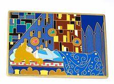 RARE JUMBO LE Disney Pin✿Sleeping Beauty Aurora Art Nouveau Easel Merryweather +