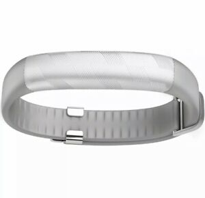 UP2 by Jawbone Activity + Sleep Tracker Classic Flat Strap - Silver