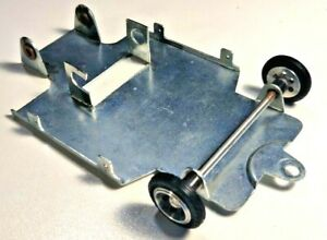 Parma Vintage Whisperjet chassis with nice front wheels and soldered bushings