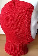 """""""Baby Babbo Natale"""" Rosso Luccicante Passamontagna, ideale per Fancy Dress & Productions"""