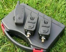 Rovex Wireless 2+1 Bite Alarm & Receiver Set Carp Fishing RRP £79.99