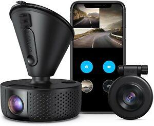 VAVA VA-VD002 Front and Rear Dash Camera - Black