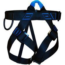 Aventure Verticale - Harnais d'Escalade First (Taille M-L) Noir et Bleu