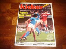 KICKER   17 APRIL 1989   SPECIAL BAYERN Vs NAPOLI  UEFA CUP SEMI-FINAL 1988-89