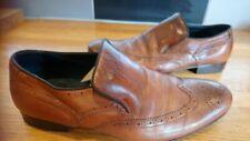 Mens Clarks Smart Brown Shoes Size 8