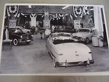 1950 FORD  DEALER SHOW ROOM LOTS NEAT STUFF  12 X 18   PHOTO   PICTURE
