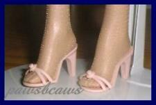 "WHITE High Heels Sandals Doll SHOES for 16"" ELLOWYNE Marley TYLER WENTWORTH"