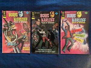 Boris Karloff Tales of Mystery Comics Lot of 17