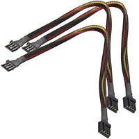"""34 pin,2  connectors,34 wires flat cable w// round sleve Floppy Cable 21/"""" Long"""