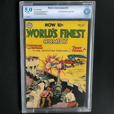 WORLD'S FINEST COMICS #72 (DC 1954) 💥 CBCS 5.0 💥 2nd Batman Superman Team-up!