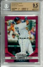 2014 Panini Red Prizm Refractor D # 3/25 Gem Mint Miguel Cabrera Detroit Tigers