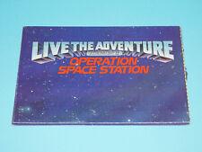 1987 GI JOE CATALOG FOLDOUT LIVE THE ADVENTURE SPACE STATION - HASBRO