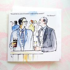 LA42 FUNNY CARD;MEN AND WOMEN; FRIEND;HUSBAND;STYLISH DESIGN;BIRTHDAY/ANYDAY