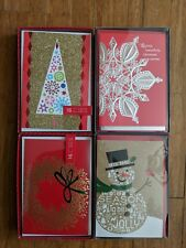 (5B3) New Christmas Cards Hallmark Lot of 64! Free shipping! With envelopes