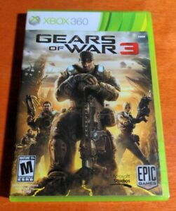 Gears of War 3 Microsoft Xbox 360 Studios Epic Games Dolby Digital Mature