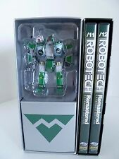 Robotech Remastered Extended Edt DVD Set w Green Limited Edition Action Figure