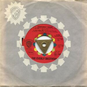 EP Everly Brothers: Foreverly Yours (Warner Bros. EA 1381) D 1960