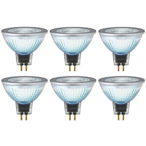 OSRAM LED Star MR16 50 36° GU5.3 Cristal Reflector 8W = 50W 621lm 80 Ra Cálido