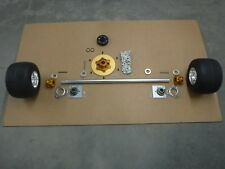 "Drift Trike Axle Kit - 36"" Axle, 3/4"" 11 tooth Clutch, Tires, Wheels & More!"