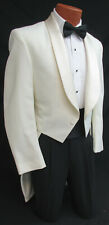 Boys Size 9 Ivory Tuxedo Tailcoat Vampire Halloween Costume Cosplay Steampunk
