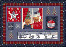 "5x8 Milliken Christmas Cuddles 00018 Beary Winter Area Rug - Approx 5'4""x7'8"""