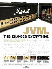 Jim Marshall 2007 JVM series 410H head amplifier advertisement ad print
