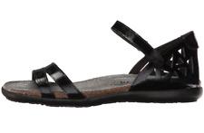 NAOT Bonnie Black Leather Sandals 1677 Size 10US/41