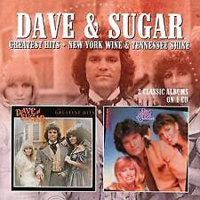 Dave And Sugar - Greatest Hits / New York Wine & Tennessee Shine (NEW CD)