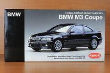 BMW M3 E46 Coupé Noir/Black/Schwarz 1/18ème 08503K KYOSHO RARE !