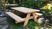 Kids & Children's Cedar Picnic Table